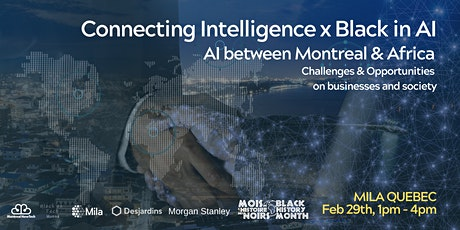 Black in AI x Connect Intelligence tickets
