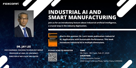 Industrial AI and Smart Manufacturing tickets