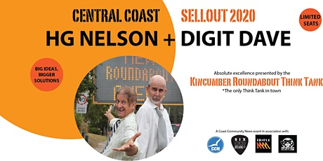 HG NELSON + DIGIT DAVE -  SELLOUT 2020 - COMEDY TOUR tickets