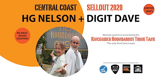HG NELSON + DIGIT DAVE -  SELLOUT 2020 - COMEDY TOUR