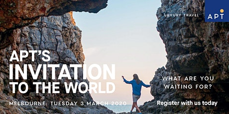 APT's Invitation to the world - March 2020 tickets