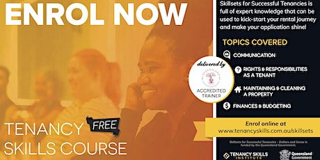 Riverview Tenancy Skills Course tickets