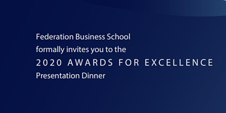 Federation Business School Awards for Excellence - Ballarat tickets