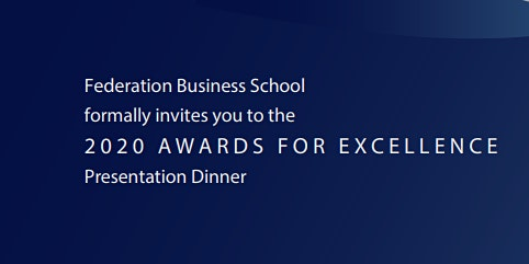 Federation Business School Awards for Excellence - Ballarat