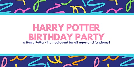 Harry Potter Birthday Party tickets