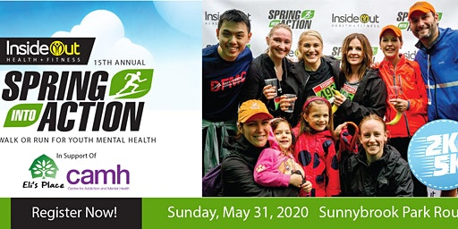 15th Annual Spring Into Action Walk or Run for Youth Mental Health