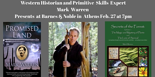 Author & Primitive Skills Expert Mark Warren Presents in Athens