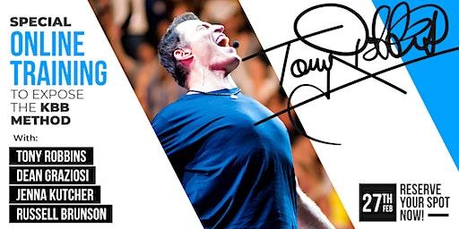LIVE CAST: TONY ROBBINS & DEAN GRAZIOSI (Little Rock) *THURSDAY 2/27/20*