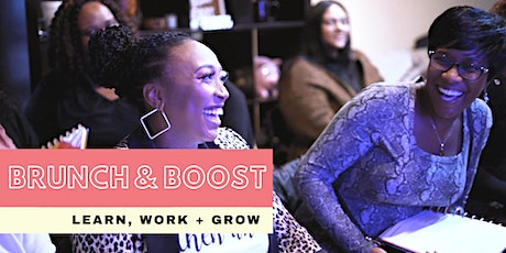 Brunch + Boost | The premier networking event for women of color.  tickets