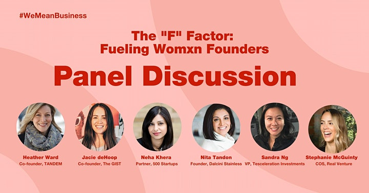 """The """"F"""" Factor: Fueling Womxn Founders image"""