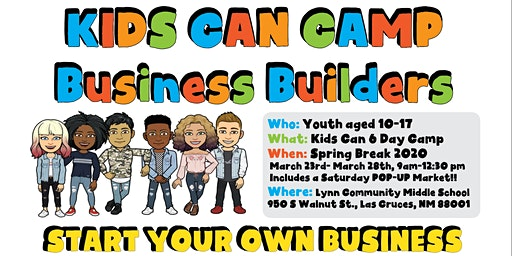 Kids Can Camp - Business Builders