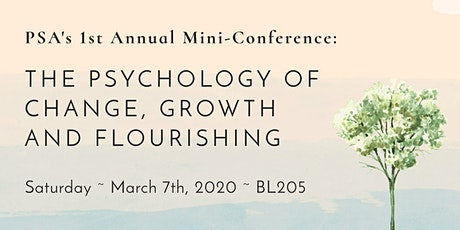 PSA Conference: The Psychology of Change, Growth and Flourishing tickets