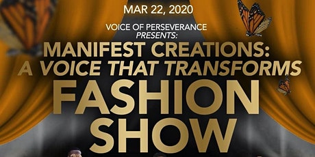 Manifest Creations: A Voice That Transform Fashion Show tickets