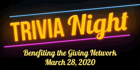 Trivia Night benefiting the Giving Network tickets