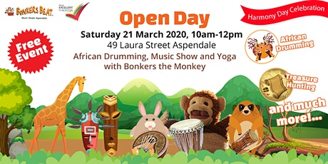 Open Day at Bonkers Beat Music Kinder 2020 tickets