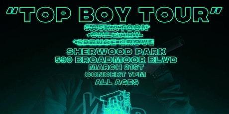 OG Jonah's Top Boy Tour: Sherwood Park tickets