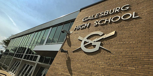 Galesburg High School Lunch Visit