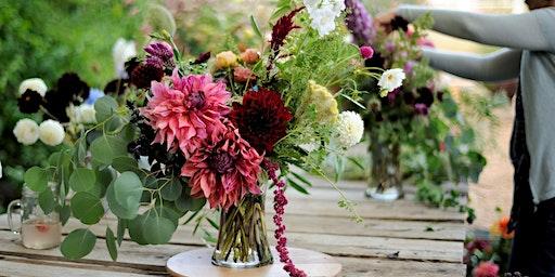 Forever Bloom Farm - Arranging Dahlias Workshop – Pescadero, CA – 8/29/20
