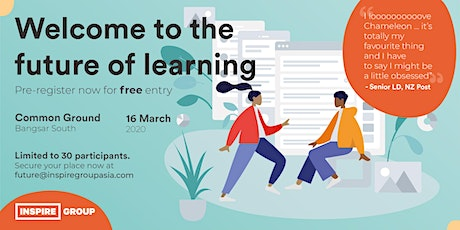 Welcome To The Future Of Learning tickets