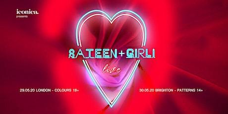 Sateen + Girli LIVE at Patterns Brighton tickets