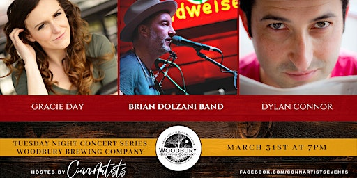 Brian Dolzani, Gracie Day, Dylan Connor at The Woodbury Brewing Company