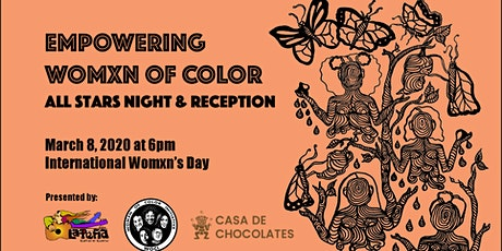 Empowering Womxn of Color All Stars Night & Reception tickets