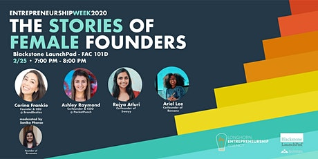 The Stories of Female Founders tickets