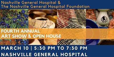 NGH & NGHF - FOURTH ANNUAL ART SHOW & OPEN HOUSE tickets