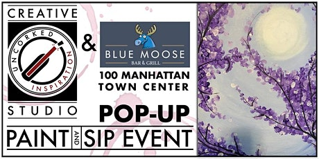 Paint & Sip | Blue Moose Antler Room tickets