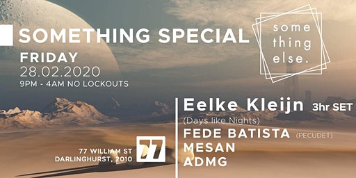 Something Special - Eelke Kleijn (NL) - 3hrs