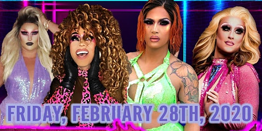 Birds of Prey Drag Show featuring Akashia and Nicole Paige Brooks