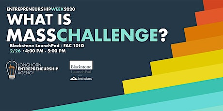 What is MassChallenge? tickets