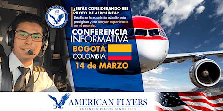 Conferencia Informativa de American Flyers en BOGOTÁ, COLOMBIA boletos