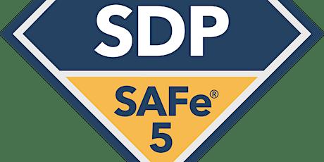 Online SAFe® 5.0 DevOps Practitioner with SDP Certification tickets
