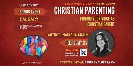 Finding Your Voice as a Christian Parent with Natasha Crain tickets
