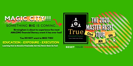 The Master Reset Tour - Ctrl, Alt, Dlt & Reset Your Financial Game Board tickets