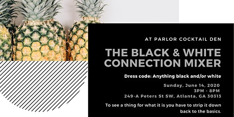 Black & White Connection Mixer tickets
