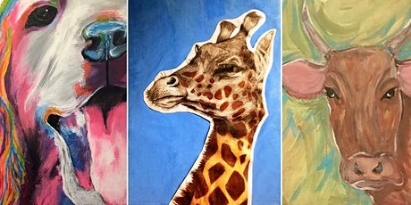 Half Day: Adult Guided OPEN Studio, Painted Animals with Debi West tickets