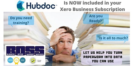 Hubdoc Training Event  -Adelaide - Hosted by BOSS tickets