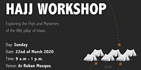 Hajj Workshop tickets