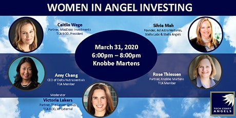 3rd Annual Women In Angel Investing: 2020  tickets