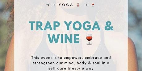 Trap Yoga & Wine tickets