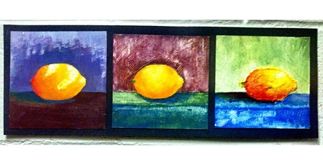 Half Day: Adult Guided OPEN Studio, Painted Fruit with Debi West tickets