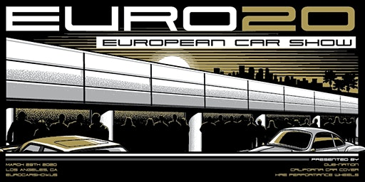 9th Annual European Car Show (#EURO20) at the Petersen Museum