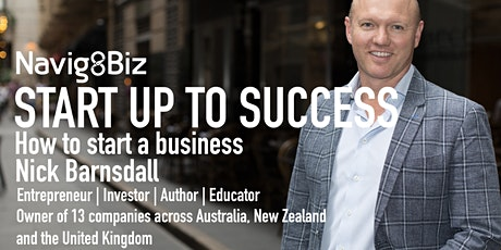 STARTUP TO SUCCESS - Bundall tickets