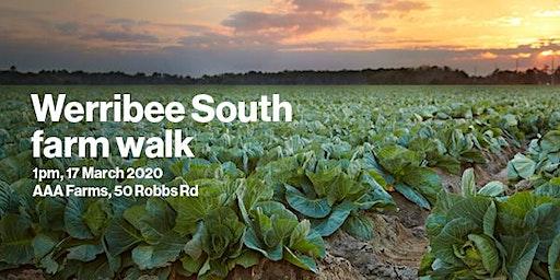 Werribee South farm walk