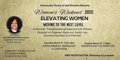 CCOG-Women's Weekend Workshop & Luncheon tickets