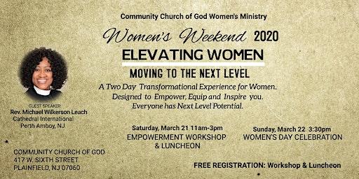 CCOG-Women's Weekend Workshop & Luncheon