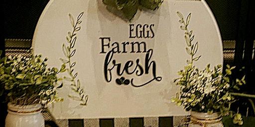 Farmhouse Chalk Workshop