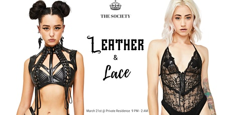 Leather & Lace hosted by The Society tickets